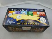 Coins Of America Complete 1999-2008 P And D Mint State Quarters Set In Box