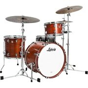 Ludwig Classic Oak 3-piece Downbeat Shell Pack W/20 Bass Drum Tennessee Whiskey