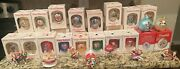 Campbell Soup Kids Lot Of 25 Christmas Ornaments From 80s And 90s