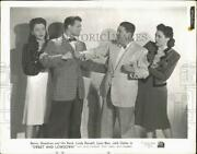 1944 Press Photo Actors In A Scene From Sweet And Lowdown - Lrx96241