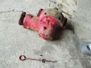 Farmall 300 Ih Rc Tractor Original Belt Pulley Drive Assembly 358223r3 W/ Rod And