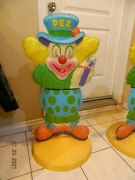 Rare Holy Grail Pez Store Display Clown 36.5 X 19 1960and039s