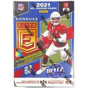 2021 Panini Donruss Elite Football   Pick Your Card   Complete Your Set