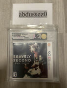 Bravely Second End Layer 3ds Vga 95+ Mint Uncirculated