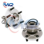 Pair Rear Left And Right Wheel Hub Bearings For 2007 - 2013 Suzuki Sx4 Awd 512393