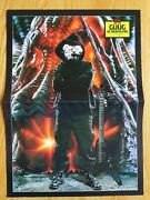 Guug Of Mudvayne / Brian May Of Queen Guitar World Double-sided Pin-up Poster