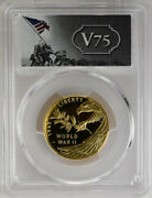 2020-w 25 V75 End Of Wwii, 75th Anniversary Modern Gold Commemorative Coin