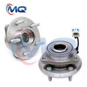 2new Front Wheel Hub Bearing For 2007 - 2009 Equinox Torrent Xl-7 W/ Abs 513276