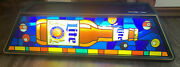 Miller Lite Pool Table Light Beer Sign Vintage Collectible