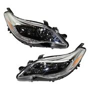 8114507130 8118507130 Capa Driver And Passenger Side Hid/xenon Lh Rh For Avalon