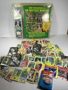 Large Mixed Lot Of Vintage Baseball Cards And Stickers Tops Conlon Panini Read