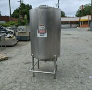 200 Gallon Stainless Steel Tank Reservoir Vertical Cylinder Container Can Ship