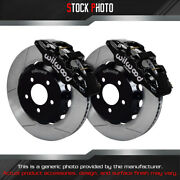 Wilwood Street Gt Slotted Rotor Aero6 Caliper F Brake For 11-13 Charger