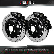 Wilwood Street Drilled And Slotted Rotor Aero6 Caliper F Brake For 15 Mustang