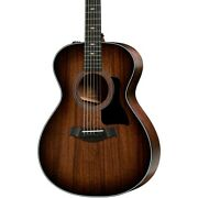 Taylor 322e V-class Grand Concert Acoustic-electric Guitar Shaded Edge Burst