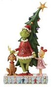 , Max And Cindy By The Tree - Jim Shore Christmas Figurine Brand New