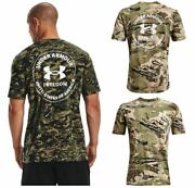 Under Armour 1370822 Menand039s Ua Freedom Camo Short Sleeve Tee Athletic T-shirt