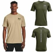 Under Armour 1370821 Mens Athletic Ua Tac Freedom Spine T-shirt Short Sleeve Tee