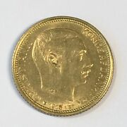 1913 Denmark 10 Kroner Gold Coin - Nice Uncirculated - High Quality Scans D001