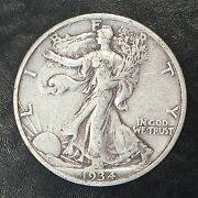 1934-s Walking Liberty Half - Full Clear Detail - High Quality Scans F064