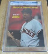Willie Mays Sports Illustrated Cover July 27,1970 Newsstand Cgc 8.0