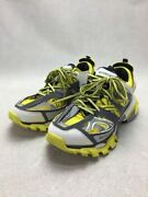 Secondhand Balenciaga 542023/track Trainers Track Low Cut Sneakers 43 Ylw Shoes