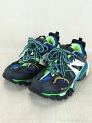 Secondhand Balenciaga Track Sneakers Low Cut 41 Blu 5402023 Shoes