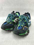 Secondhand Balenciaga Low-cut Sneakers/39/nvy/pvc/track Sneakers Shoes