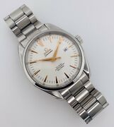 Omega Aqua Terra Co-axial Silver Dial Rose Gold Stainless Steel 41mm 2502.34