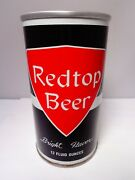 Redtop Straight Steel Pull Tab Beer Can 113-10 Associated Brewry So. Bend, Ind.