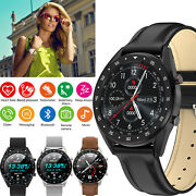 Luxury Smart Watch Bluetooth Phone Call Text For Android Galaxy S21 Plus S10 S20