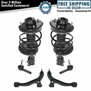 6 Piece Steering And Suspension Kit Complete Struts Control Arms Outer Tie Rods