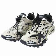 Secondhand Balenciaga Track Truck Sneaker Dad Shoes Greige White Black 570391