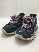 Secondhand Balenciaga Track Trainer Low Cut Sneakers Blk 542023 Shoes