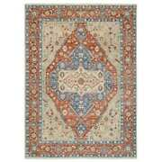 10and0393x13and03910 Supple Collection Heris Hand Knotted Pure Wool Beige Rug R63437