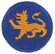 Wwii 157th Infantry Division And039phantomand039 Shoulder Sleeve Insignia
