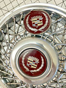 Vintage 14i Cadillac/olds/buick Wire Hubcaps Original Plated 1985-1993