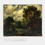 Antique Signed Impressionist Oil Painting By Herman Niemeier 1916