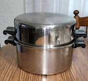 7 Qt Saladmaster Heavy Duty Stockpot Dutch Oven Stainless Steel T304s W/lid