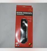 Cdn Dtf572 Rotating Thermocouple Thermometer - Black