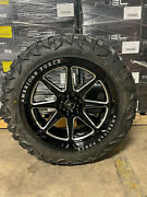 22x10 American Force Trail 34 Atturo Mt Mts Tires 6x135 Ford F150 Expedition
