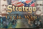 Brand New Stratego Board Game Americas Civil War Collectors Edition Rare Sealed