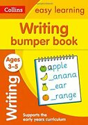 Writing Bumper Book Ages 3-5 Collins Easy Learning Preschool,collins Easy Le