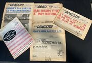 Vintage 1962 Drag Racing News Magazines Addressed John Moxley And Charles Griffith