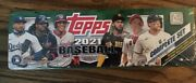 2021 Tops Baseball Complete Set. 660 Cards Series 1 And 2, 5 Rookie Var Cards