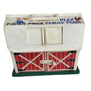 Vtg 1967 Fisher Price Little People Play Family Farm Toy Set 915 Complete