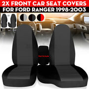Front Bench Car Seat Cover Cotton For Ford Ranger 1998-2003 60/40 High Back Seat