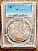 1881-o Pcgs Ms65 Morgan Silver Dollar Graded Certified New Orleans U.s. 1 Coin
