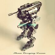 Punk Style Metal Handmade Diy Assembly Model [mechanical Overlord] Toy Ornaments
