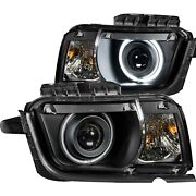 Anzo New Headlights Driving Head Lights Headlamps Set Of 2 Chevy Coupe Pair